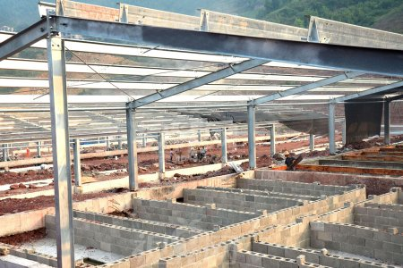 Light Steel Structure Pig House